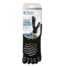Gaiam Performance Super Grippy Yoga Socks