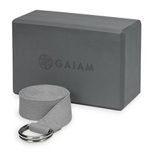 Gaiam Performance Block & Strap Combo