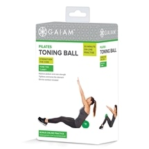 Gaiam Pilates Toning Ball Kit