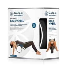 Gaiam Performance Deep Stretch Back Wheel