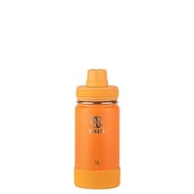 Takeya Actives Insulated Steel Bottle Tangerine 415ml Spout Lid