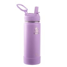 Takeya Actives Insulated Steel Bottle Lilac 530ml Straw Lid