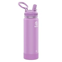 Takeya Actives Insulated Steel Bottle Lilac 700ml Straw Lid