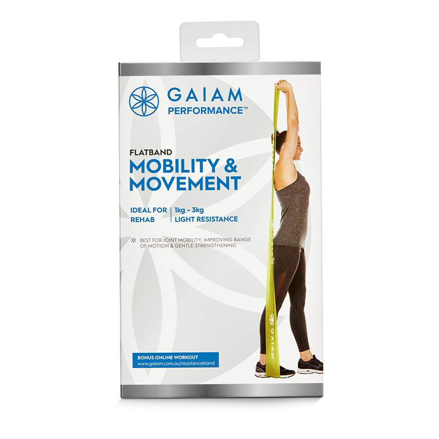 Gaiam Performance Flatband Mobility & Movement_27-70210_0
