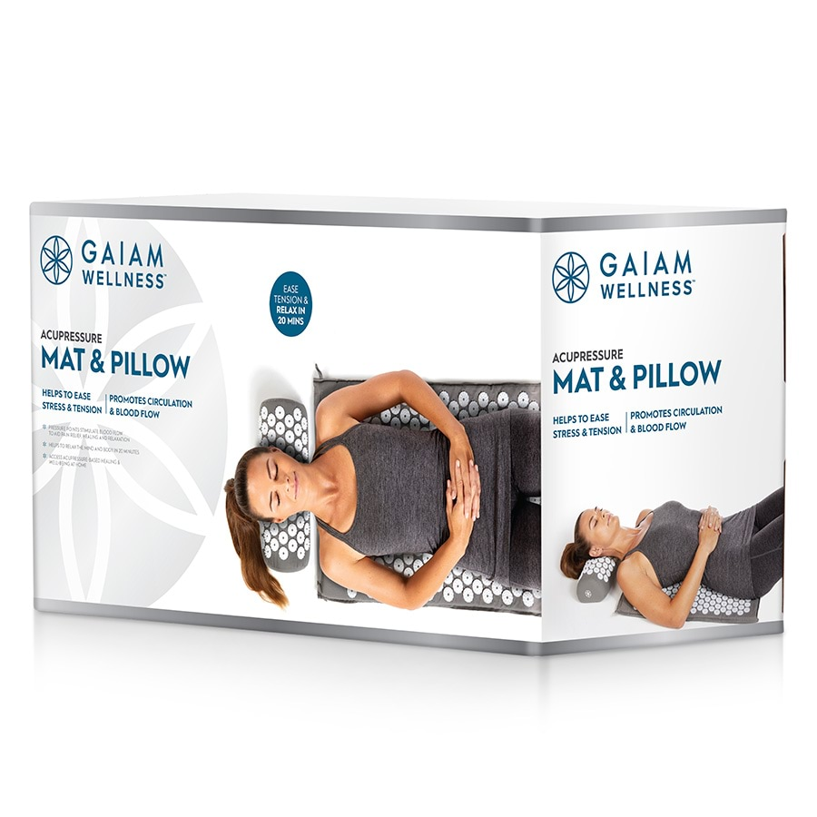 Gaiam Performance Acupressure Mat & Pillow_27-73264_1