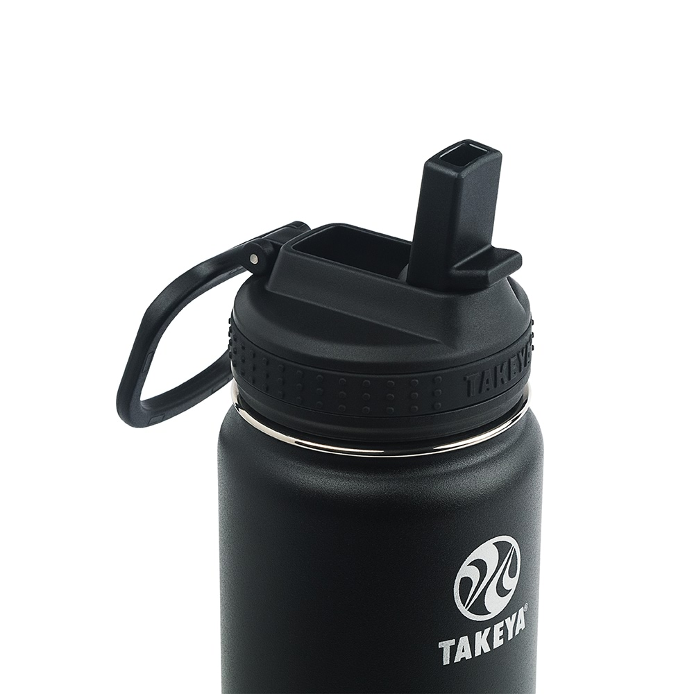 Takeya Actives Onyx Insulated Straw Lid_97145-R_1